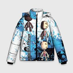 Куртка зимняя для мальчика Little Big цвета 3D-черный — фото 1