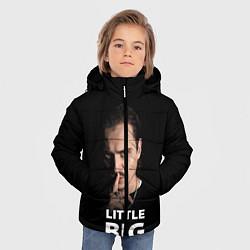 Куртка зимняя для мальчика Little Big: Илья Прусикин цвета 3D-черный — фото 2