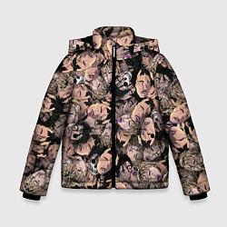Куртка зимняя для мальчика Juice WRLD цвета 3D-черный — фото 1