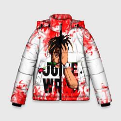 Детская зимняя куртка для мальчика с принтом Juice WRLD, цвет: 3D-черный, артикул: 10212959906063 — фото 1