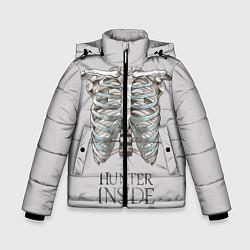 Куртка зимняя для мальчика Supernatural Hunter Inside цвета 3D-черный — фото 1
