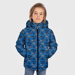 Куртка зимняя для мальчика To Hell And Back цвета 3D-черный — фото 2
