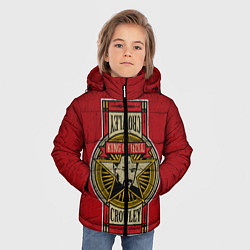 Куртка зимняя для мальчика King Of Hell цвета 3D-черный — фото 2