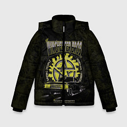 Куртка зимняя для мальчика Winchester Bros цвета 3D-черный — фото 1