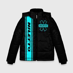 Куртка зимняя для мальчика NILETTO цвета 3D-черный — фото 1