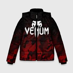 Куртка зимняя для мальчика VENUM цвета 3D-черный — фото 1