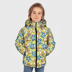 Куртка зимняя для мальчика Jerry: Pattern цвета 3D-черный — фото 2