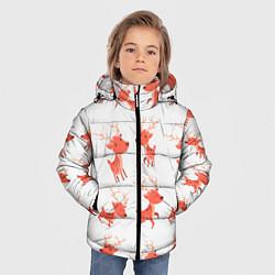 Куртка зимняя для мальчика Милый олень цвета 3D-черный — фото 2