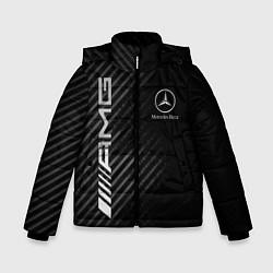 Куртка зимняя для мальчика MERCEDES цвета 3D-черный — фото 1