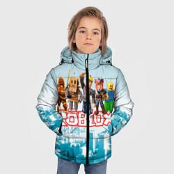 Куртка зимняя для мальчика ROBLOX 5 цвета 3D-черный — фото 2