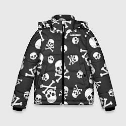 Детская зимняя куртка для мальчика с принтом Scorpions, цвет: 3D-черный, артикул: 10220591306063 — фото 1