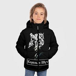 Куртка зимняя для мальчика КИШ цвета 3D-черный — фото 2