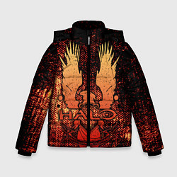 Куртка зимняя для мальчика Halo цвета 3D-черный — фото 1
