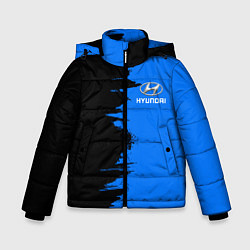 Куртка зимняя для мальчика HYUNDAI цвета 3D-черный — фото 1