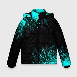 Куртка зимняя для мальчика Краска цвета 3D-черный — фото 1