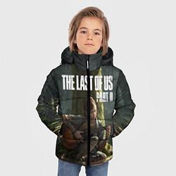 Куртка зимняя для мальчика The Last of Us part 2 цвета 3D-черный — фото 2