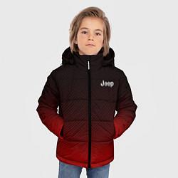 Детская зимняя куртка для мальчика с принтом Jeep спина Z, цвет: 3D-черный, артикул: 10237334506063 — фото 2
