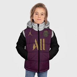 Куртка зимняя для мальчика Third Jordan 20-21 цвета 3D-черный — фото 2