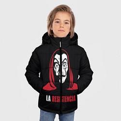 Куртка зимняя для мальчика VALORANT цвета 3D-черный — фото 2