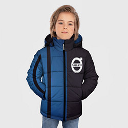 Куртка зимняя для мальчика VOLVO цвета 3D-черный — фото 2