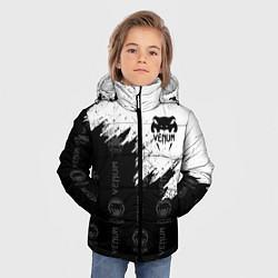 Куртка зимняя для мальчика VENUM цвета 3D-черный — фото 2