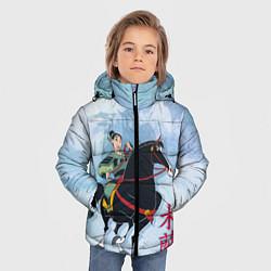 Куртка зимняя для мальчика Fa Ping цвета 3D-черный — фото 2