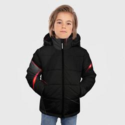 Куртка зимняя для мальчика DARK цвета 3D-черный — фото 2