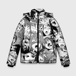 Куртка зимняя для мальчика СЕНПАЙ SENPAI цвета 3D-черный — фото 1