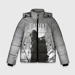 Куртка зимняя для мальчика STALKER 2 цвета 3D-черный — фото 1