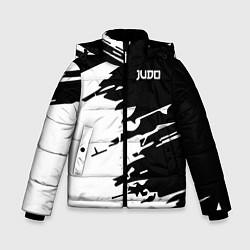 Куртка зимняя для мальчика Judo цвета 3D-черный — фото 1