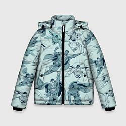 Куртка зимняя для мальчика Superman - фото 1