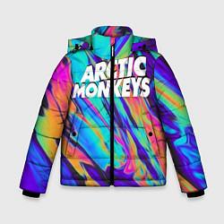 Куртка зимняя для мальчика ARCTIC MONKEYS - фото 1