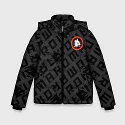 Куртка зимняя для мальчика AS Roma Top 202122 цвета 3D-черный — фото 1