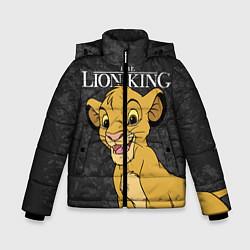 Куртка зимняя для мальчика Король Лев цвета 3D-черный — фото 1