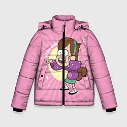 Куртка зимняя для мальчика Meow wow! цвета 3D-черный — фото 1