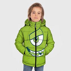 Куртка зимняя для мальчика Mike Wazowski цвета 3D-черный — фото 2
