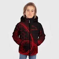 Куртка зимняя для мальчика Ягуар Jaguar цвета 3D-черный — фото 2