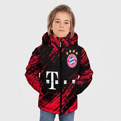 Куртка зимняя для мальчика BAYERN MUNCHEN БАВАРИЯ цвета 3D-черный — фото 2