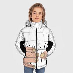 Куртка зимняя для мальчика Hand цвета 3D-черный — фото 2