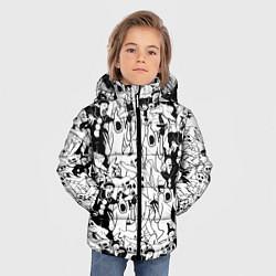 Куртка зимняя для мальчика GHOSTEMANE цвета 3D-черный — фото 2