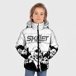 Куртка зимняя для мальчика SKILLET цвета 3D-черный — фото 2