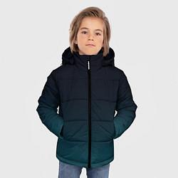 Куртка зимняя для мальчика GRADIENT цвета 3D-черный — фото 2