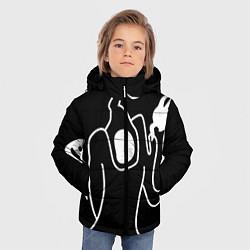 Куртка зимняя для мальчика Haunted Family цвета 3D-черный — фото 2