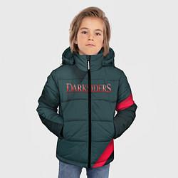 Куртка зимняя для мальчика DARKSIDERS ДАРКСАЙДЕРС S цвета 3D-черный — фото 2