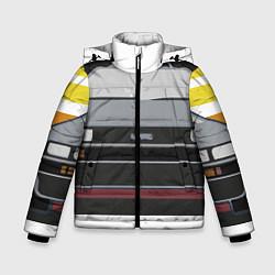 Куртка зимняя для мальчика Back to the Future цвета 3D-черный — фото 1