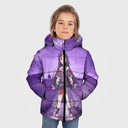 Куртка зимняя для мальчика Юки Конно цвета 3D-черный — фото 2