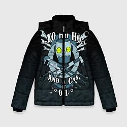 Куртка зимняя для мальчика Йохохо и канистра масла цвета 3D-черный — фото 1