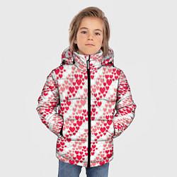 Куртка зимняя для мальчика Love цвета 3D-черный — фото 2