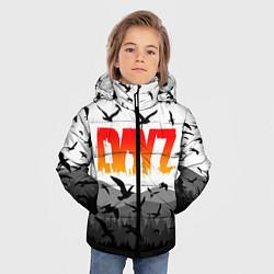 Детская зимняя куртка для мальчика с принтом DAYZ, цвет: 3D-черный, артикул: 10287937106063 — фото 2