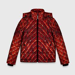 Куртка зимняя для мальчика Red Snake цвета 3D-черный — фото 1